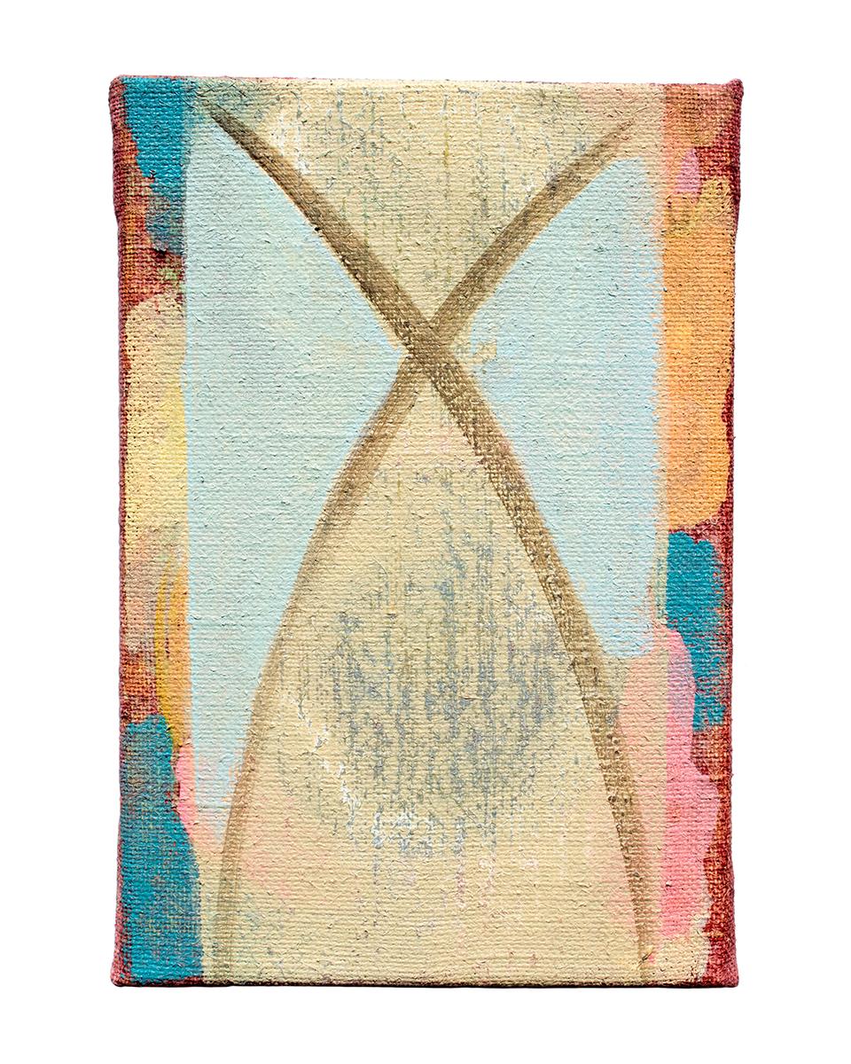 """Klas, acrylic on canvas, 12"""" x 8"""", 2016"""