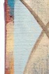 "Klas (detail), acrylic on canvas, 12"" x 8"", 2016"