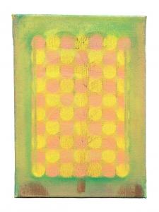 "Sum, oil on canvas, 12"" x 8"", 2015"