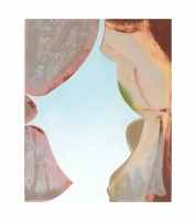 "Femme Fenêtre, oil on panel, 10"" x 8"", 2020"